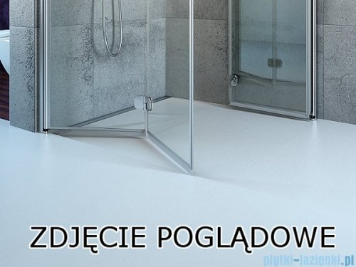 Radaway Arta Kds I kabina 100x80cm prawa szkło przejrzyste 386620-03-01R/386100-03-01R/386110-03-01