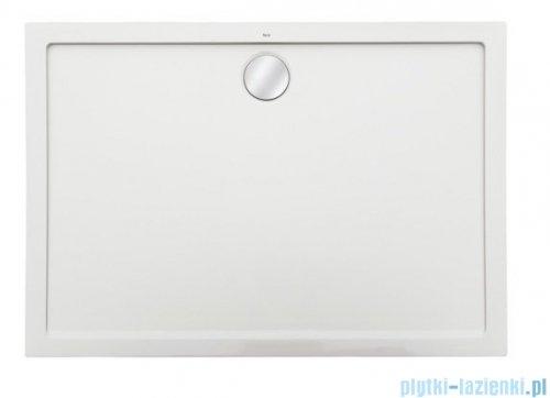 Roca Aeron brodzik prostokątny 100x80x3,5cm biały + syfon A276285100