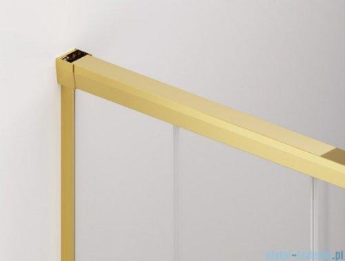 SanSwiss Cadura Gold Line kabina Walk in 150cm lewa ze ścianką przesuwną CAW2G1501207