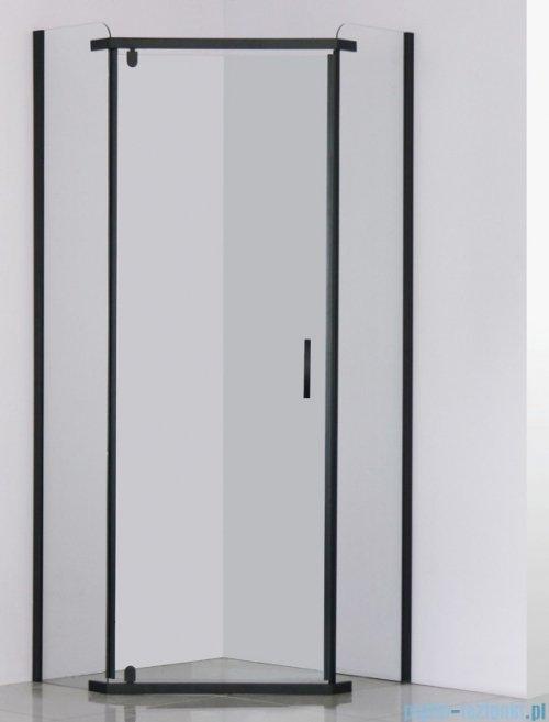 Sea Horse Stylio Black kabina pięciokątna 80x80x190 cm przejrzyste BK501PTK+