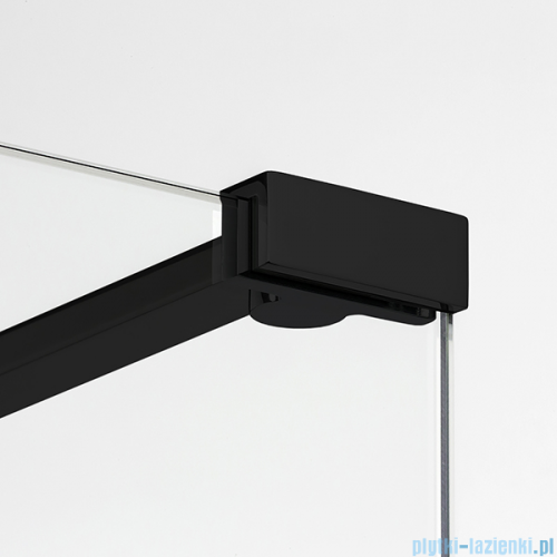 New Trendy New Modus Black kabina Walk-In 140x30cm przejrzyste EXK-0095/EXK-0088/EXK-0088