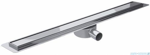 Wiper Premium Slim Pure odpływ liniowy 120 cm z kołnierzem