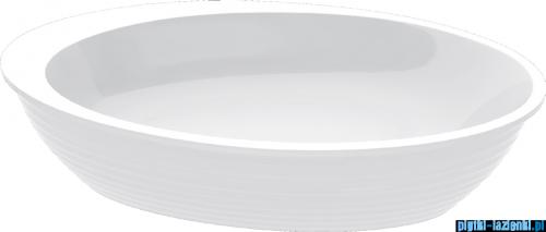 Vayer Bumerang 194x100cm Wanna owalna wolnostojąca z panelem