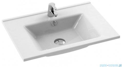 New Trendy umywalka ceramiczna z otworem na baterię 55 cm U-0085