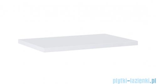 Elita blat MDF 70x46cm biały połysk 166891