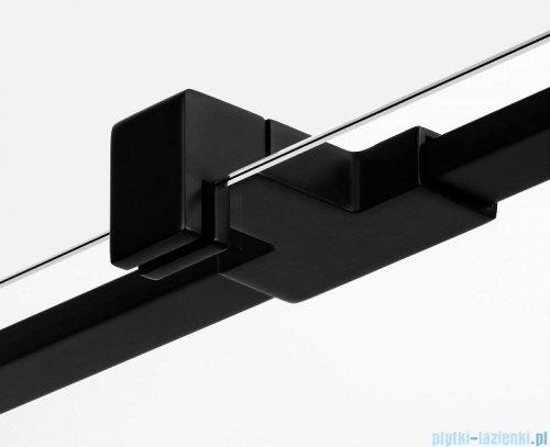 New Trendy Avexa Black kabina kwadratowa 80x80x200 cm przejrzyste lewa EXK-1562