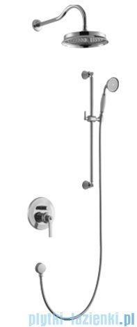 Omnires Armance kompletny łazienkowy system podtynkowy chrom