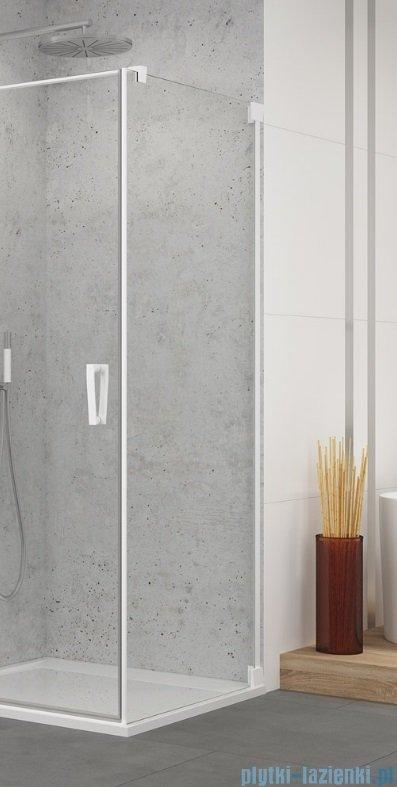 SanSwiss Cadura White Line ścianka boczna 120x200cm profile biały mat CAT11200907
