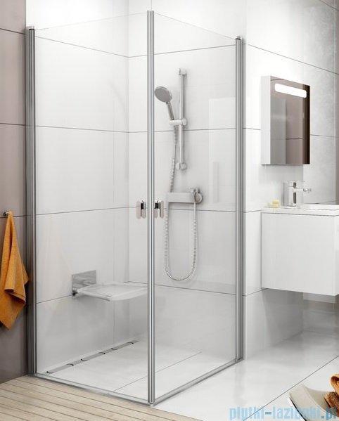 Ravak Chrome CRV1 drzwi prysznicowe 1/2 90cm satyna transparent 1QV70U01Z1