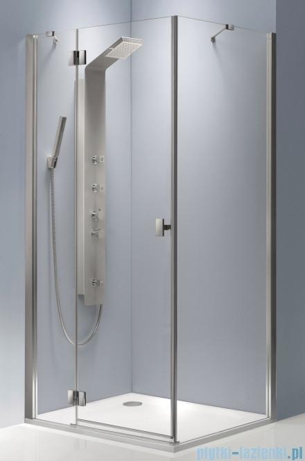 Radaway Essenza KDJ kabina 90x90 lewa szkło brązowe