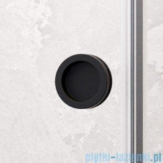 Radaway Furo Black DWJ RH drzwi prysznicowe 90cm prawe szkło przejrzyste 10107442-54-01RU/10110460-01-01