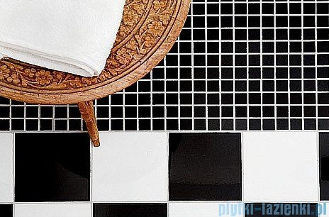 Dunin Black & White mozaika kamienna 30x30 Pure Black mix 15