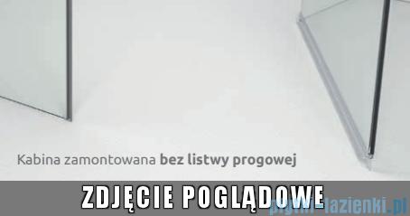 Torrenta PDJ Radaway kabina półokrągła 80x80 lewa szkło przejrzyste 31710-01-01N