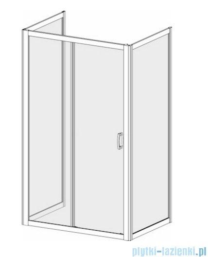 Radaway Premium Plus DWJ+2S kabina przyścienna 100x130x100cm szkło przejrzyste