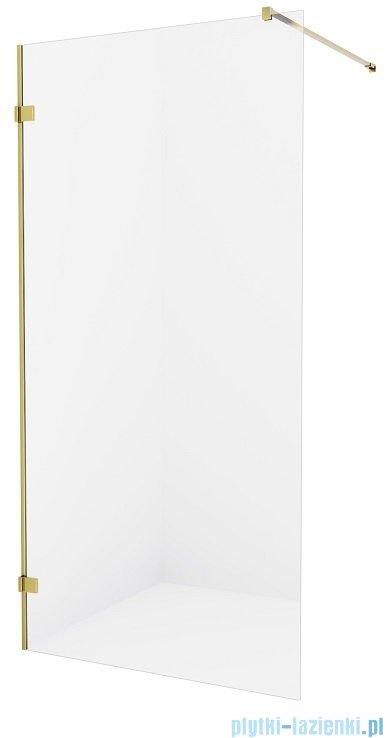 New Trendy Avexa Gold kabina Walk-In 80x200 cm przejrzyste EXK-1793
