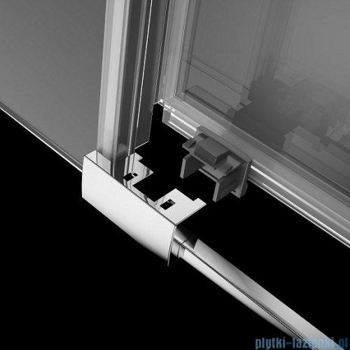 Radaway Idea Kdj kabina 120x80cm lewa szkło przejrzyste + brodzik Doros C + syfon