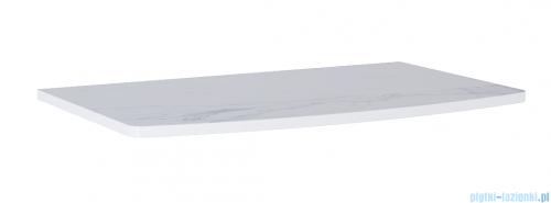 Elita Rolly blat szafkowy 81x50cm marmur biały calacatta 167798
