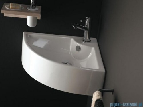 Bathco umywalka narożna Oporto 66x49 cm 0043