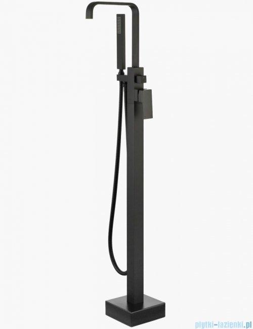 Besco Modern I bateria wannowa wolnostojąca czarny mat