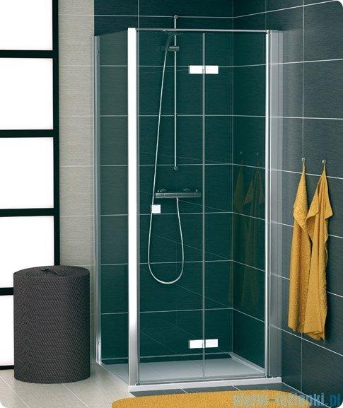 SanSwiss Swing Line F SLT1 Ścianka boczna 80cm profil srebrny SLT108000107