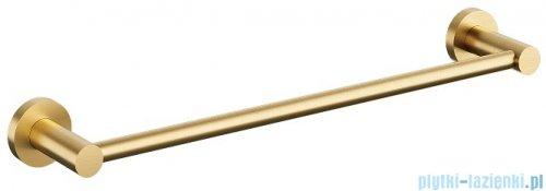 Omnires Modern Project wieszak na ręcznik 40 cm złoto szczotkowane MP60214GLB