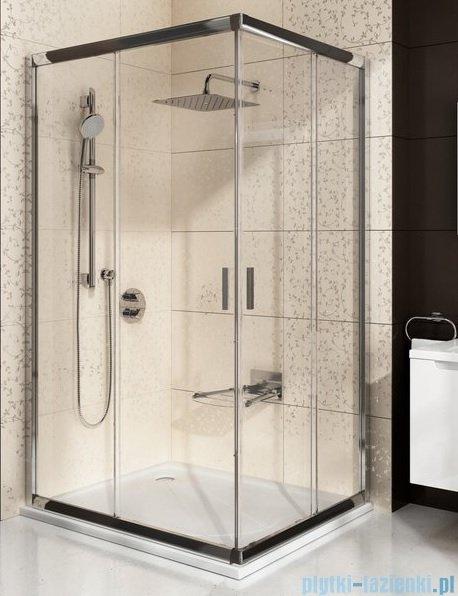 Ravak Blix BLRV2K drzwi prysznicowe 1/2 120cm białe transparent Anticalc 1XVG0100Z1