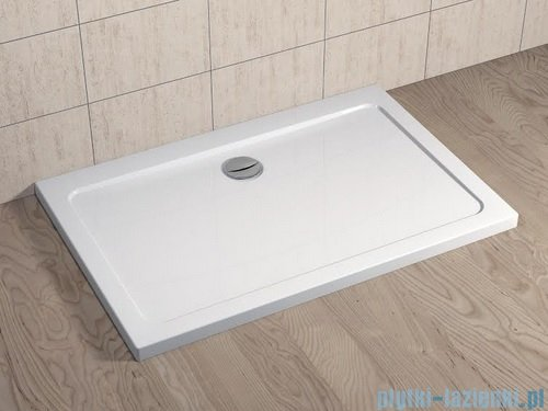 Radaway Kabina prysznicowa Essenza KDD 100x90 szkło brązowe + brodzik Doros D + syfon 32874-01-08NL