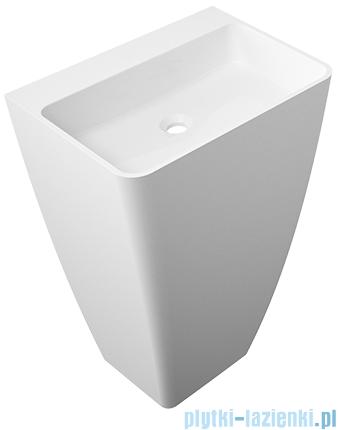 Omnires Parma UW umywalka wolnostojąca bez otworów biały połysk PARMAUWBOBP