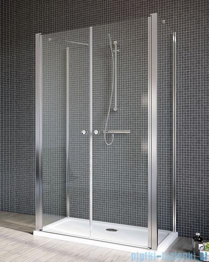 Radaway Eos II DWD+2S Drzwi prysznicowe 120x197 szkło przejrzyste