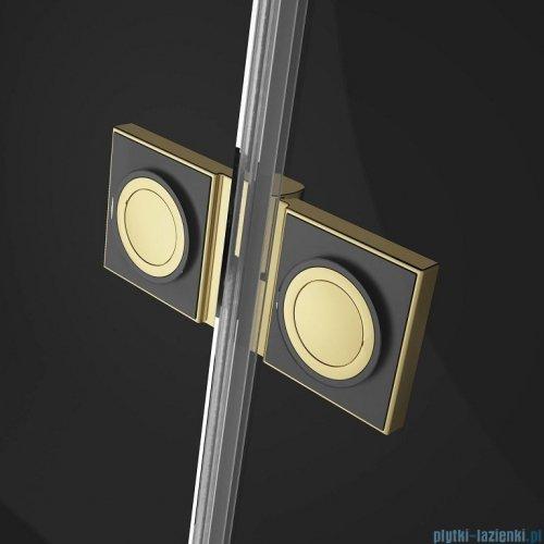 Radaway Essenza Pro Gold Kdj kabina 100x75cm lewa przejrzyste 10097100-09-01L/10098075-01-01