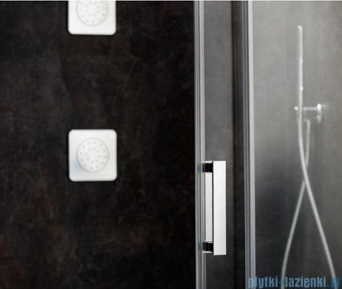 Ravak Matrix MSDPS kabina prysznicowa 100x100cm lewa satyna transparent 0WLAAU00Z1