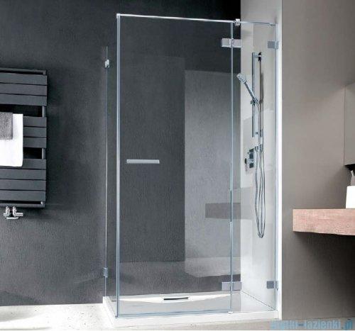 Radaway Euphoria KDJ Kabina prysznicowa 120x90 prawa szkło przejrzyste + brodzik Argos D + syfon