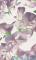 Dekor ścienny 3-elementowy Tubądzin Colour Bloom Violet 98,1x59,3