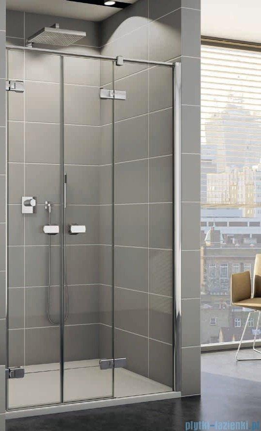 Sanswiss Melia ME32 Drzwi prysznicowe prawe 120cm przejrzyste ME32PD1201007