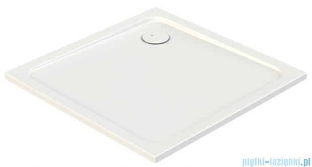 Sanplast Free Line brodzik kwadratowy B/FREE 100x100x2,5 cm + stelaż 615-040-4040-01-000
