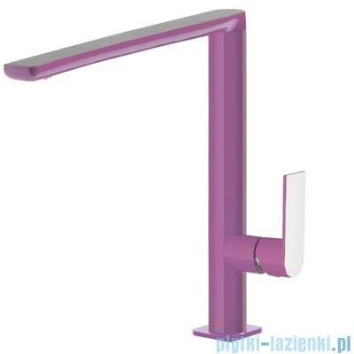Tres Loft Colors Bateria umywalkowa z korkiem automatycznym kolor fioletowy 200.205.03.VI.D