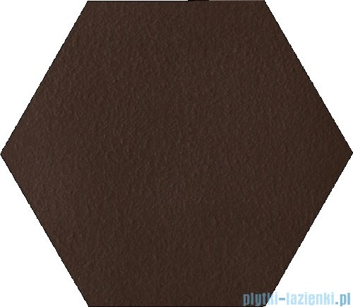 Paradyż Natural brown duro klinkier heksagon 26x26