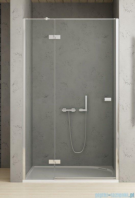 New Trendy Reflexa 130x200 cm drzwi wnękowe lewa przejrzyste EXK-1214