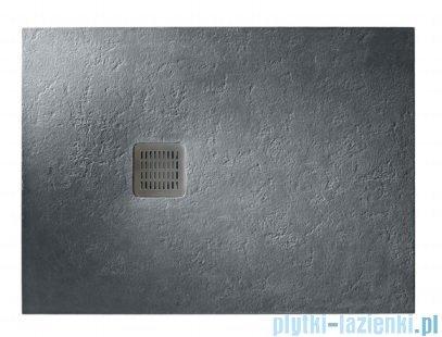 Roca Terran 100x80cm brodzik prostokątny konglomeratowy ciemnoszary AP013E832001200