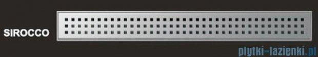 Wiper Odpływ liniowy Premium Sirocco 110cm z kołnierzem szlif S1100SPS100