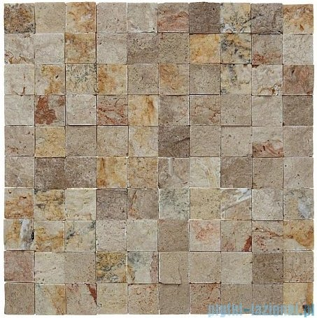 Dunin Zen mozaika kamienna 30x30 travertine rock 30