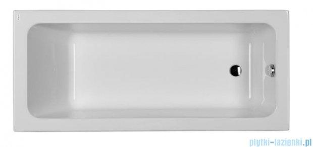 Koło Modo wanna prostokątna z powłoką AntiSlide 170x75cm odpływ z boku XWP1170101