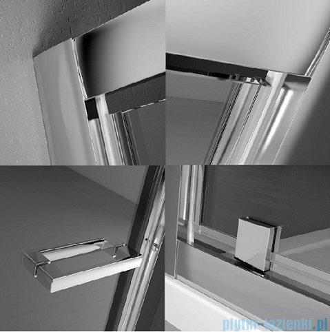 Radaway Twist DW+S Kabina prysznicowa 70x90 szkło brązowe 382000-08/382012-08