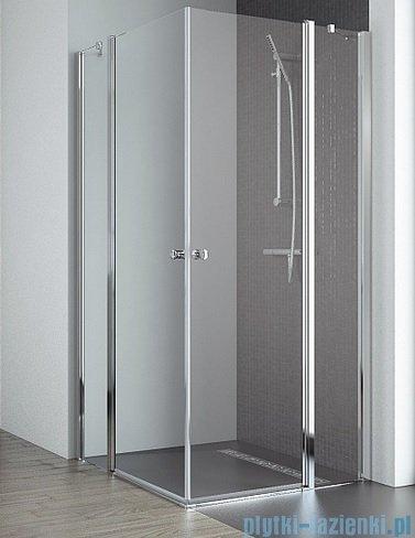 Radaway Eos II KDD kabina prysznicowa 90x100 szkło przejrzyste 3799461-01L/3799462-01R