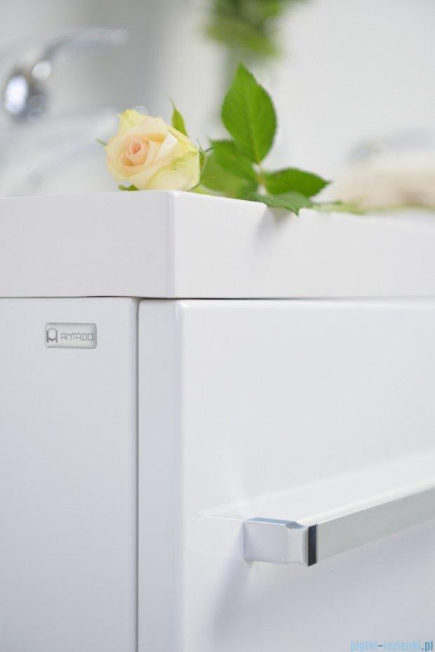 Antado Variete szafka z umywalką, wisząca 100 biały połysk FM-442/6 + FM-442/4 + UNAM-1004P