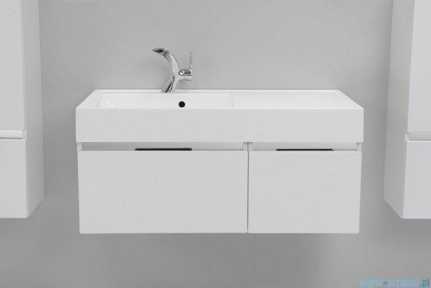 Antado Cantare szafka z umywalką lewą 100x50x33 biały połysk FSM-342/6GT-47/47+FSM-342/4GT-47/47+UNAM-1004L