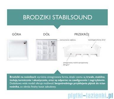 Schedpol Grando Brodzik kwadratowy 90x90x17cm 3.025
