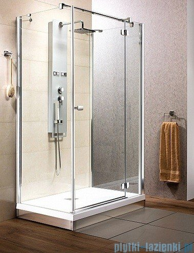 Fuenta KDJ+S Radaway Kabina prysznicowa 90x80x90 prawa szkło przejrzyste 381036-01R1 / 381036-01R2