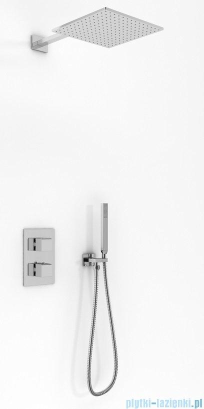 Kohlman Excelent zestaw prysznicowy z baterią termostatyczną chrom QW432HQ35