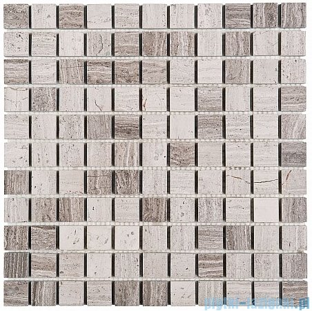 Dunin Woodstone mozaika kamienna 30x30 grey 25